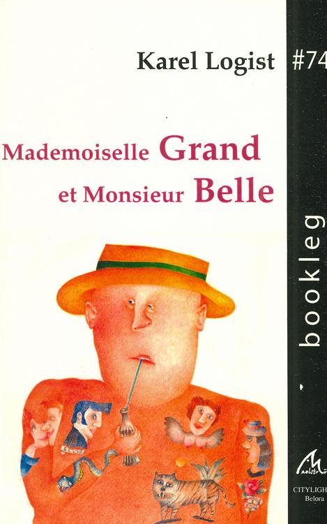 Mademoiselle Grand et Monsieur Belle, couverture illustrée par Roland Breucker
